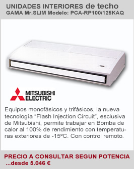 Climatizador Industrial Interior de Techo Mitsubishi Electric