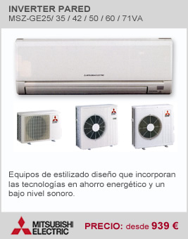 Inverter de Pared Mitsubishi Electric